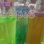 Homemade Room Spray Recipes for Winter